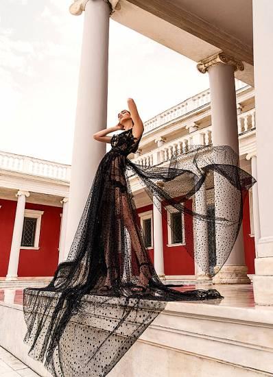 Design by Nikos - βραδυνό φόρεμα winter 2020